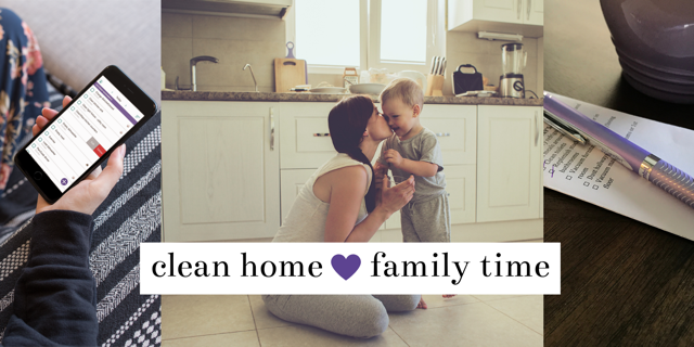 clean home family time